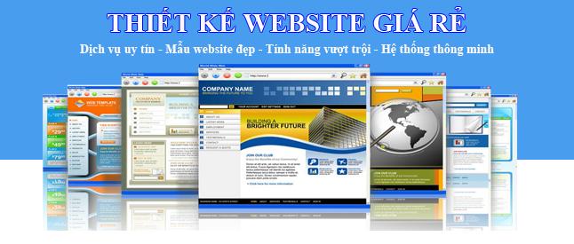 Thiết kế web giá rẻ tại Hải Phòng