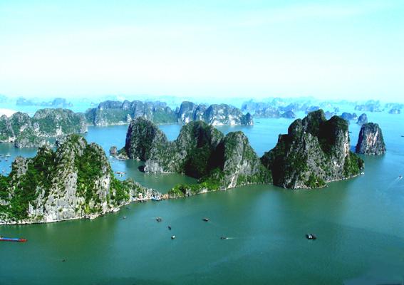 thắng cảnh vịnh Hạ Long - Quảng Ninh