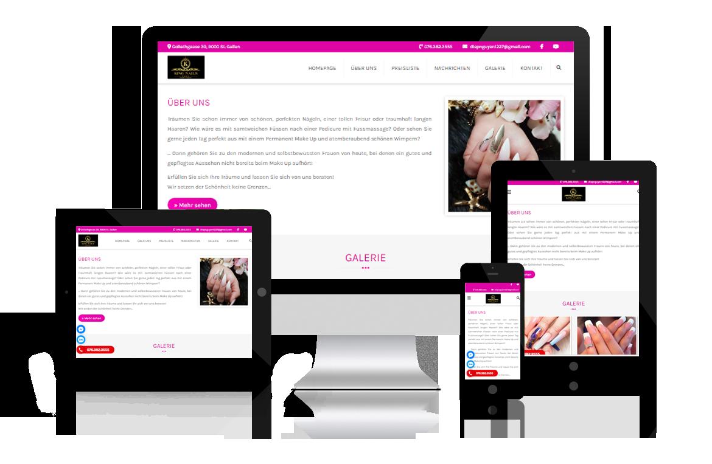 Thiết kế web King Nails