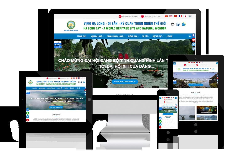 Thiết kế web Vịnh Hạ Long