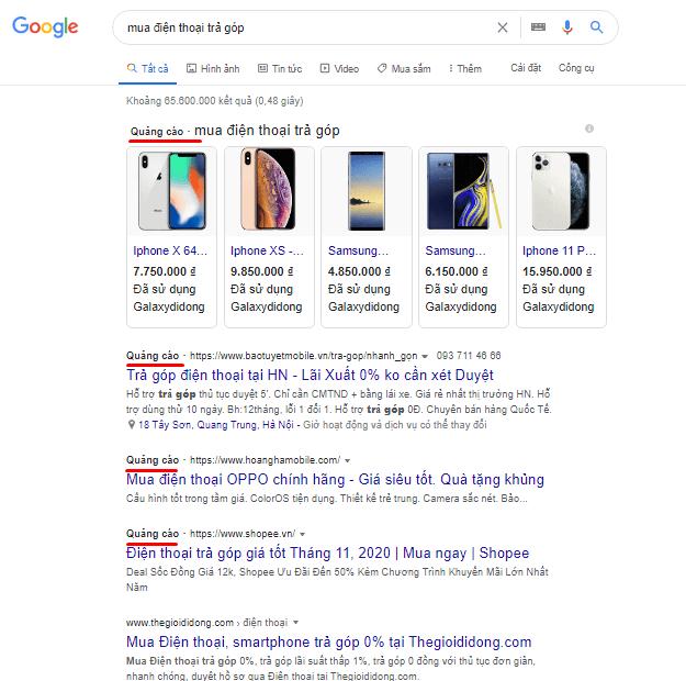 Dịch vụ SEO còn hiệu quả không khi quảng cáo Google ngày càng thịnh hành