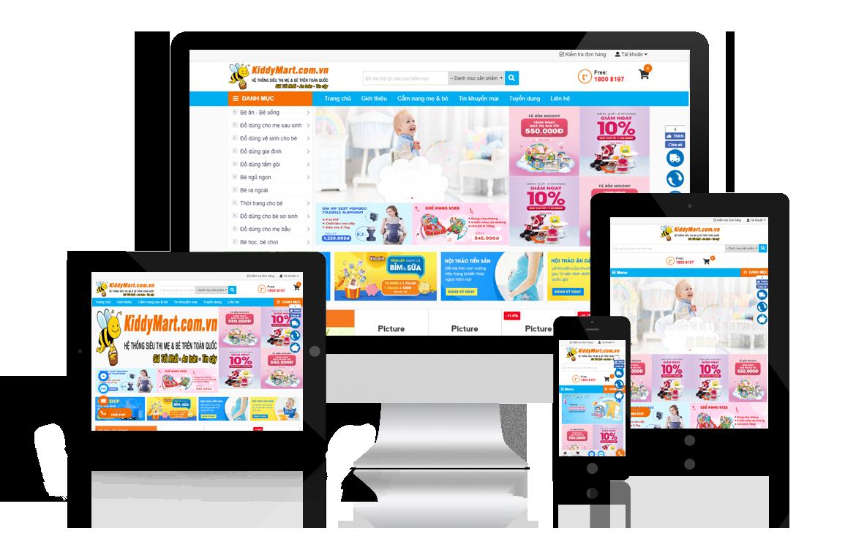 Đơn vị thiết kế website tại hải phòng - web chuẩn SEO ảnh 1