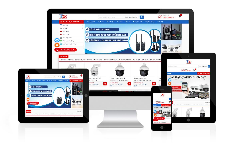 Thiết kế web Công ty Giải Pháp Trực Tuyến TH Việt Nam ảnh 1