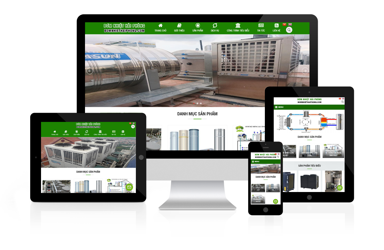 Thiết kế web Bơm Nhiệt Hải Phòng