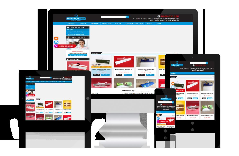 Thiết kế web Móc Nhựa