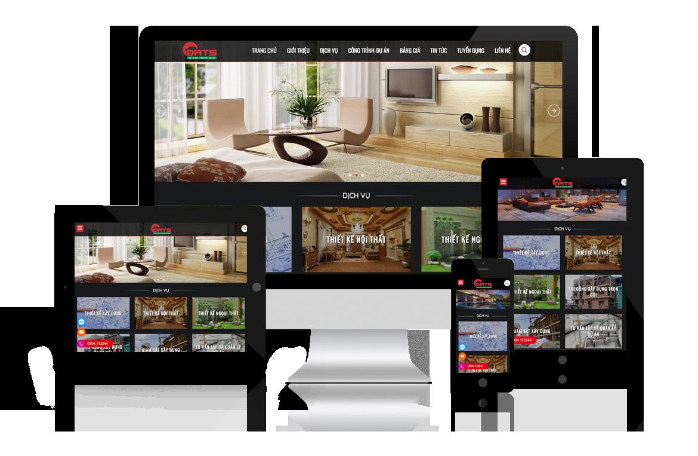 Thiết kế web Kiến Trúc Thiết Kế Nhà Hải Phòng