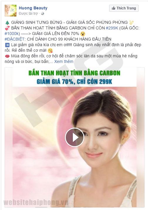 Quảng cáo Facebook Video
