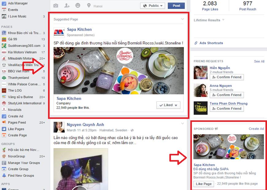 Dịch vụ quảng cáo Facebook tại Lào Cai giá rẻ, uy tín ảnh 2