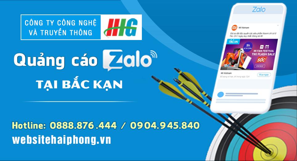 Dịch vụ quảng cáo Zalo tại Bắc Kạn giá rẻ, uy tín nhất
