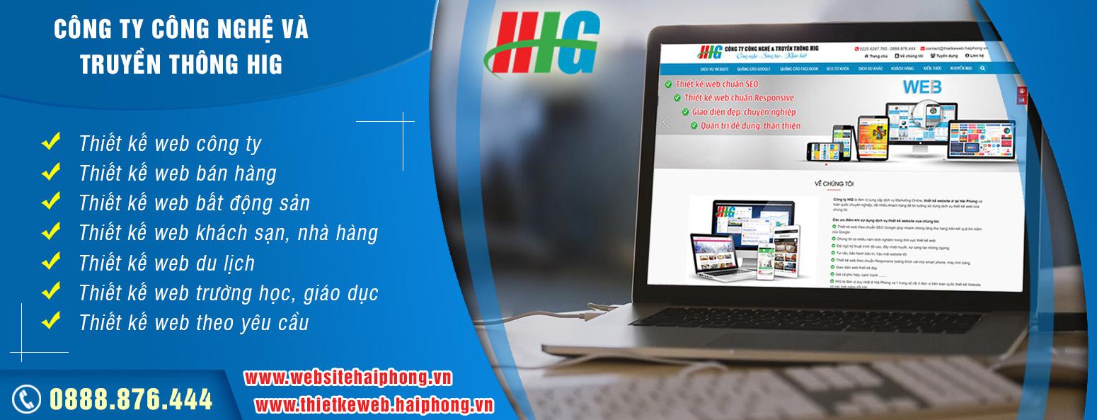 Thiet ke website tai Hai Phong