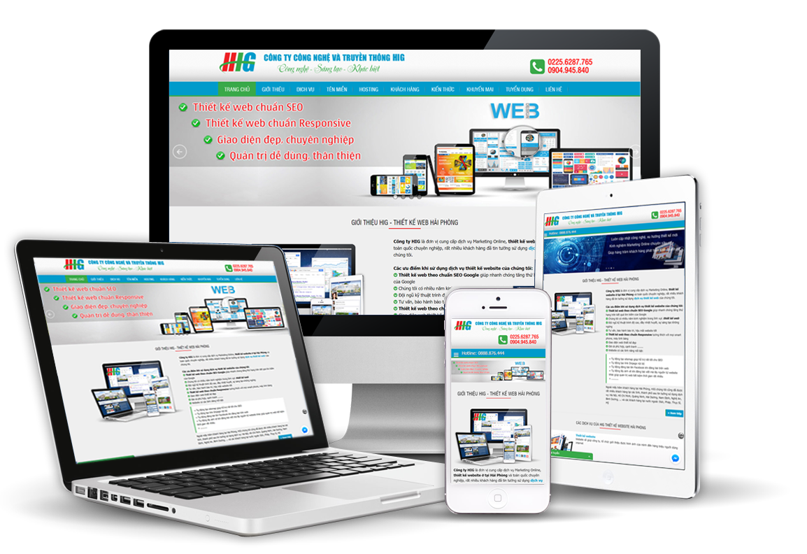 Thiết kế website tại Hải Phòng