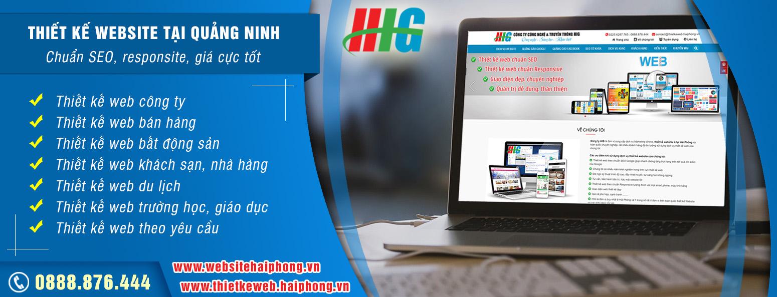 Thiết kế web tại Quảng Ninh